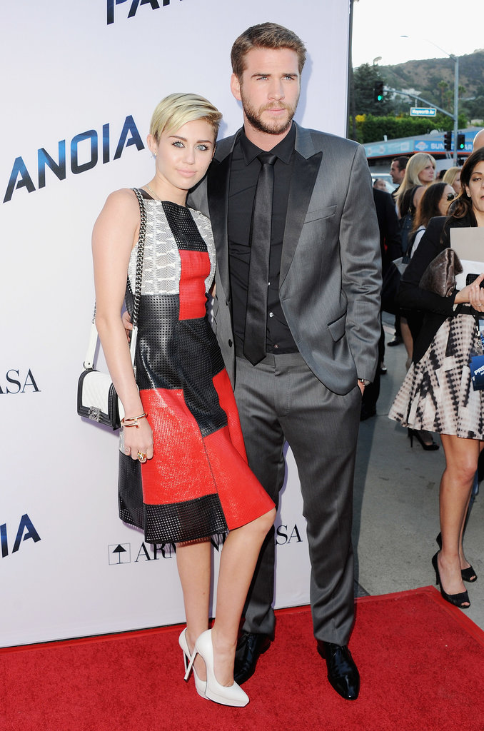 On Aug. 8, Miley Cyrus was on hand to support her on-again, off-again boyfriend Liam Hemsworth at the LA premiere of his flick Paranoia. Unfortunately, the pair's relationship was quickly heading south, and the two announced that they had ended their engagement just seven weeks following their red carpet appearance.