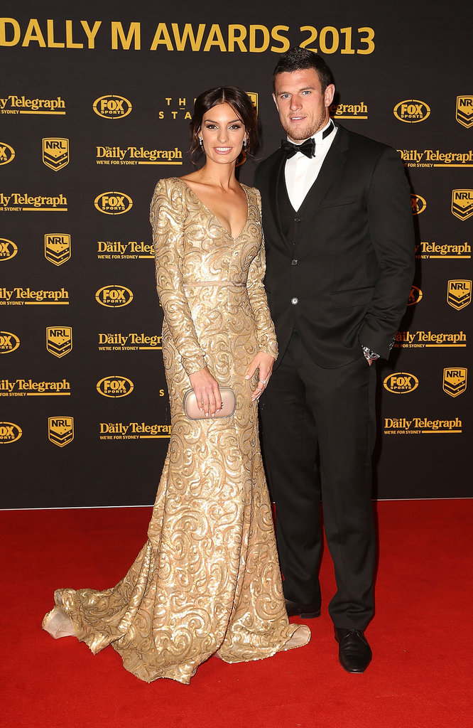 Yolanda Hodgson and Luke Burgess