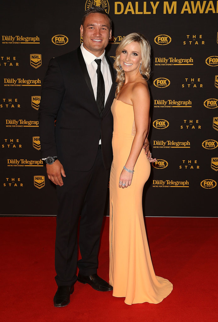 Jared Waerea-Hargreaves and Chelsea Cormac