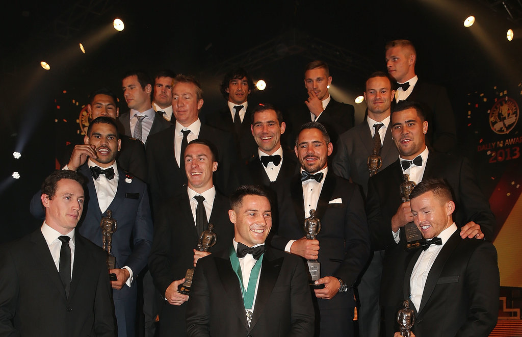 NRL Stars and Glamorous WAGs Light Up the Dally M Awards