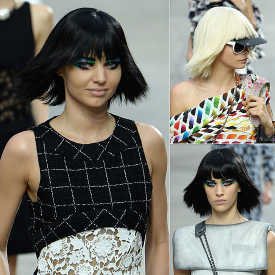 Miranda, Cara and Alexa on Runway For Chanel