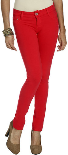 Color Moleton Skinny Pant