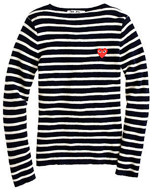 PLAY Comme des Garcons® stripe sweater