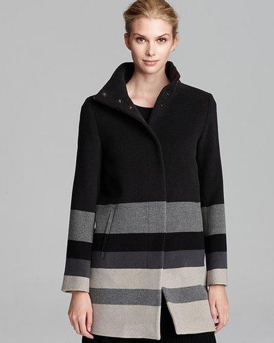 Max Mara Studio Pirenei Stripe Coat