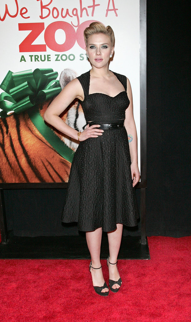 Scarlett Johansson at the We Bought a Zoo premiere, 2011