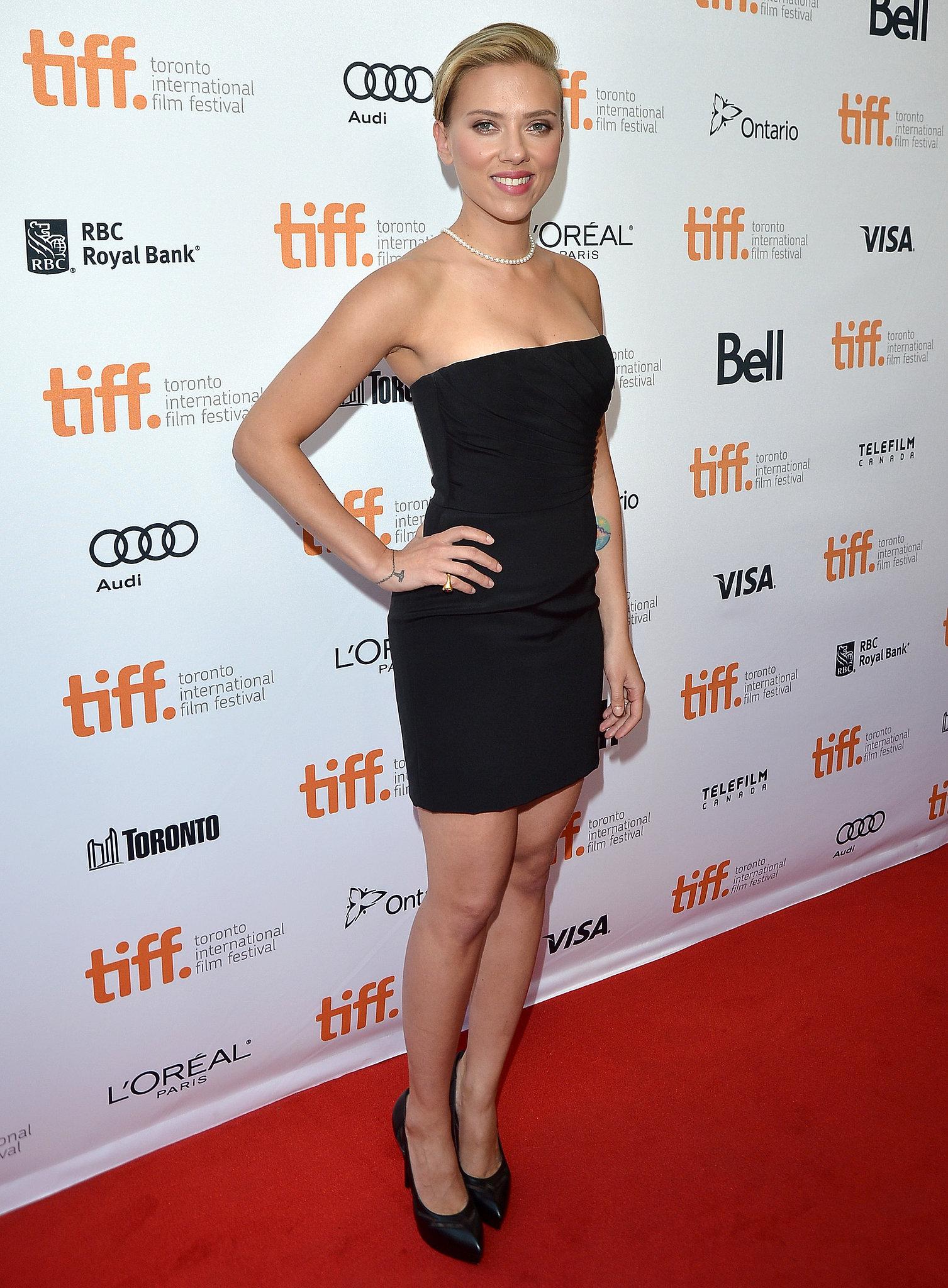 Scarlett Johansson at the Toronto Film Festival, 2013