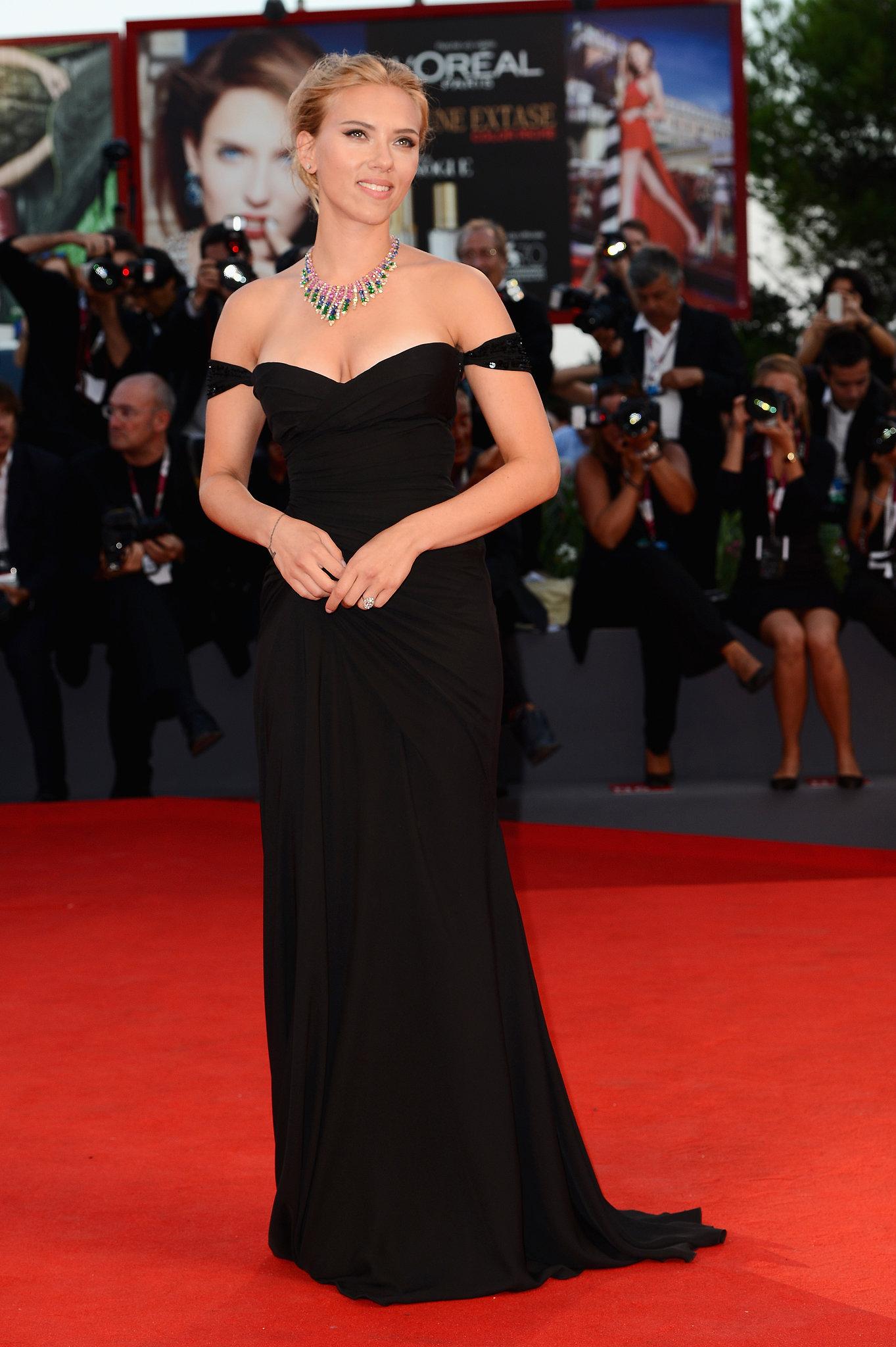 Scarlett Johansson at the Venice Film Festival, 2013