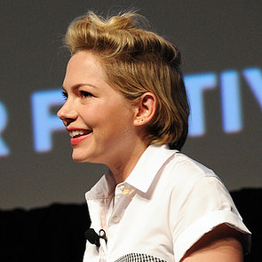Michelle Williams Half Grown Out Hair