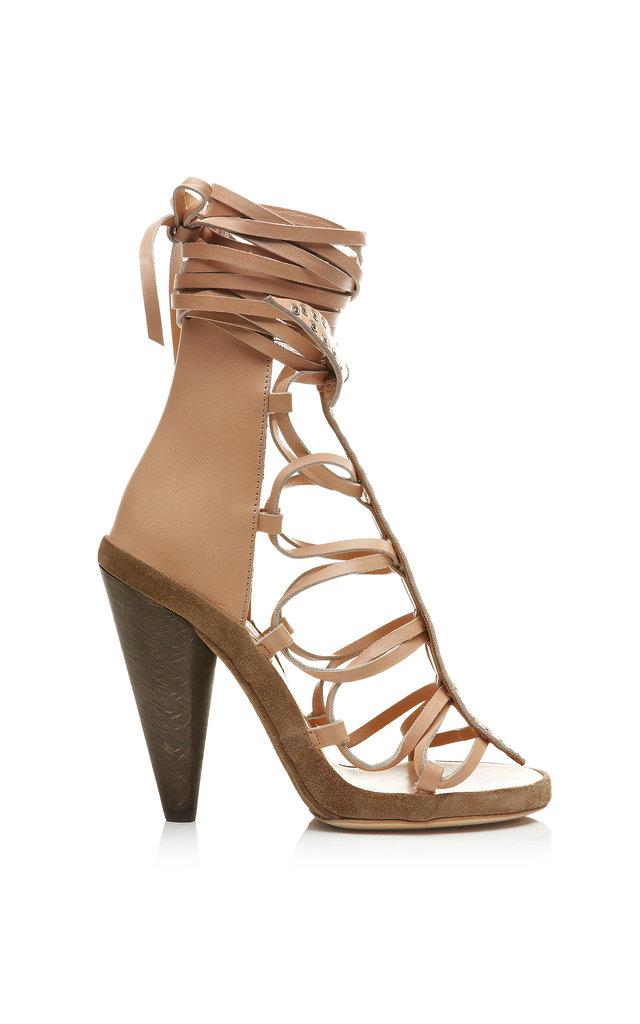 Isabel Marant Eloa Bow Tie Sandal ($1,015)