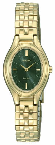 Seiko Women's SUP130 Dress Solar Classic Watch