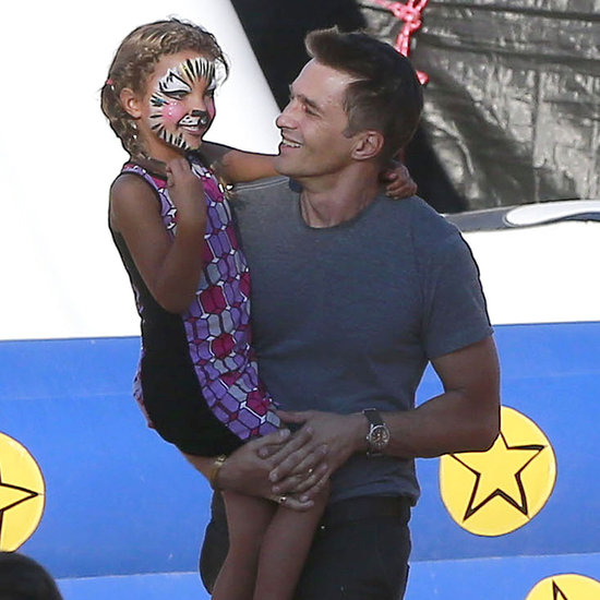 Olivier Martinez and Nahla at a Pumpkin Patch in LA