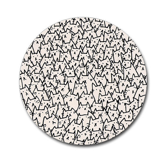 Cat Invasion Mouse Pads