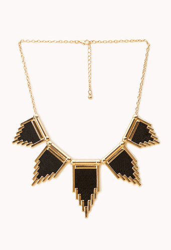 FOREVER 21 Modernist Geo Necklace