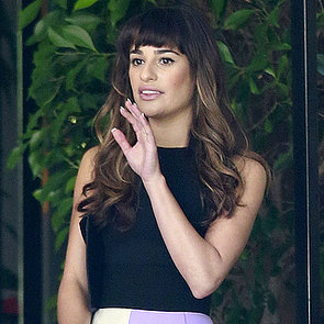 Lea Michele in LA Before Glee Tribute