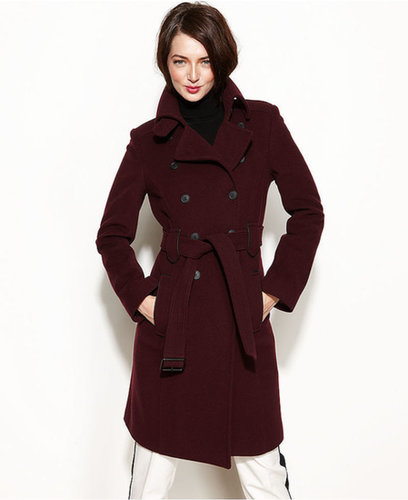 Marc New York Coat, Wool-Cashmere-Blend Trench Coat