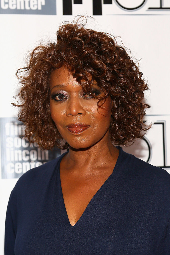 At the premieres of All is Lost, 12 Years a Slave, and Nebraska, Alfre Woodard put her kinky curls on display.