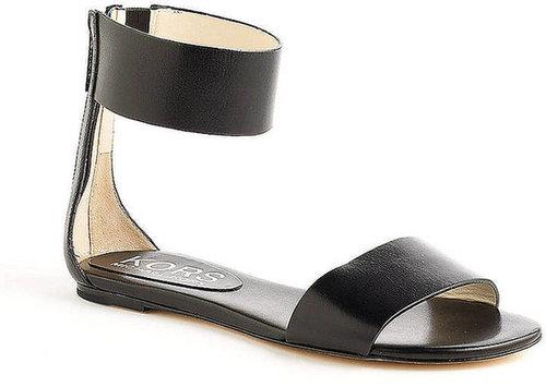 KORS MICHAEL KORS Ava Leather Ankle Strap Sandals