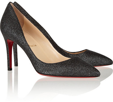 Christian Louboutin The Pigalle 85 glittered pumps
