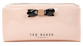 Ted Baker London Small Bow Cosmetics Case