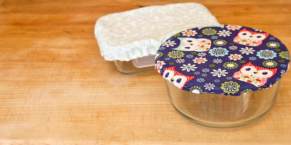 DIY Microwave Container Covers
