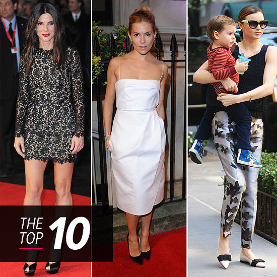Best Dressed of the Week: Miranda's Perfect Prints, Sandra in Stella McCartney + More