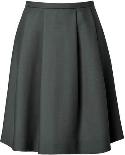 Tara Jarmon Circle Skirt in Bouteille