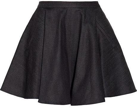 Chalayan Denim circle skirt
