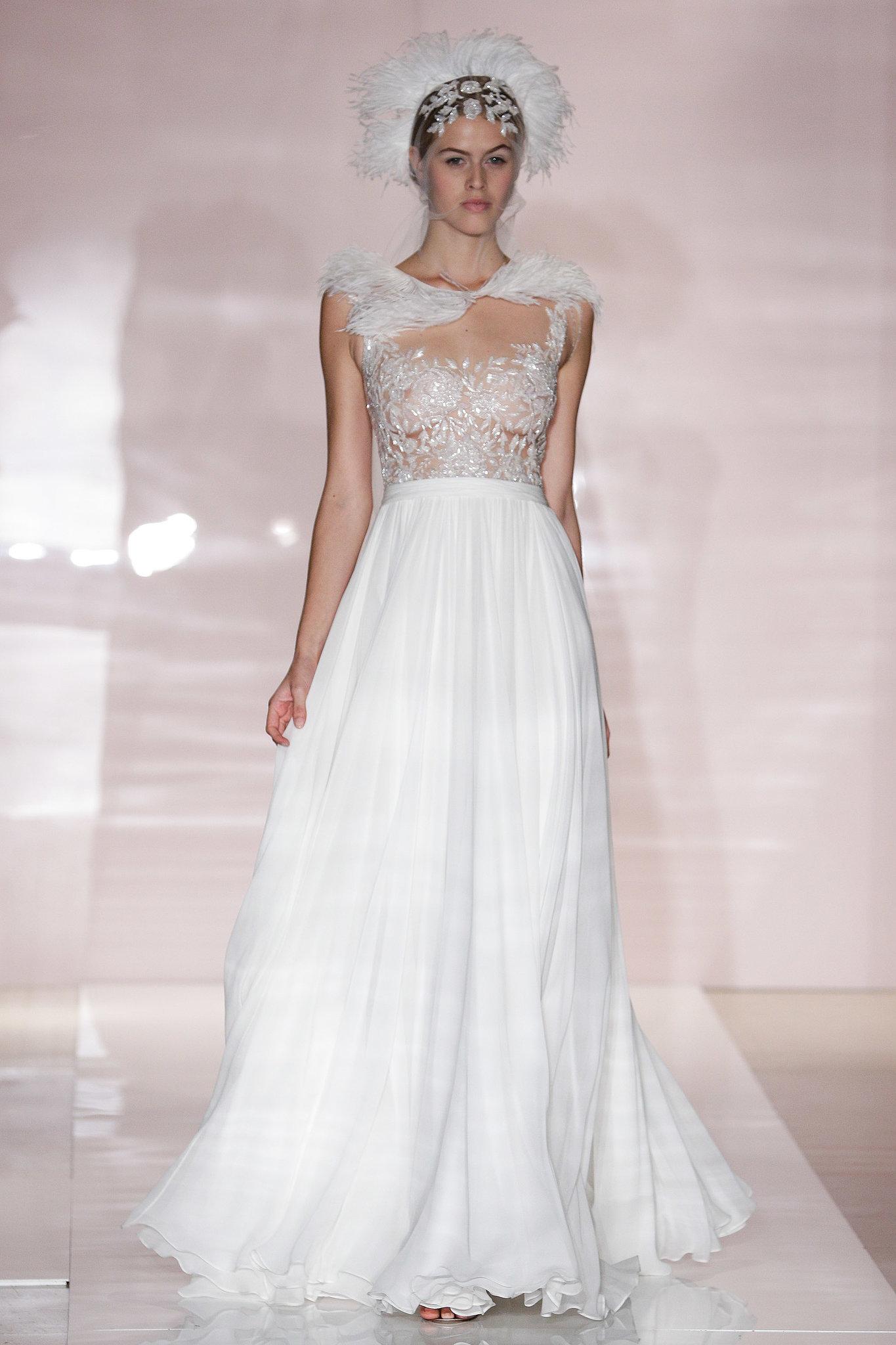 Reem Acra Fall 2014 Wedding Dresses Reem Acra Bridal Fall