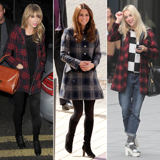 Tartan and Checked Coats Like Kate Middleton