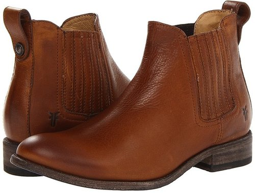 Frye - Pippa Chelsea (Dark Brown Soft Vintage Leather) - Footwear