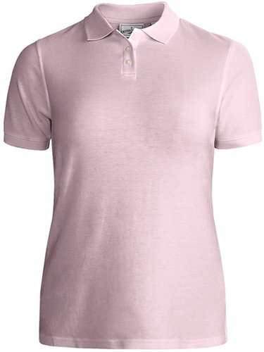 Outer Banks Essential Blended Pique Polo Shirt - Wrinkle Resistant, Short Sleeve (For Women)