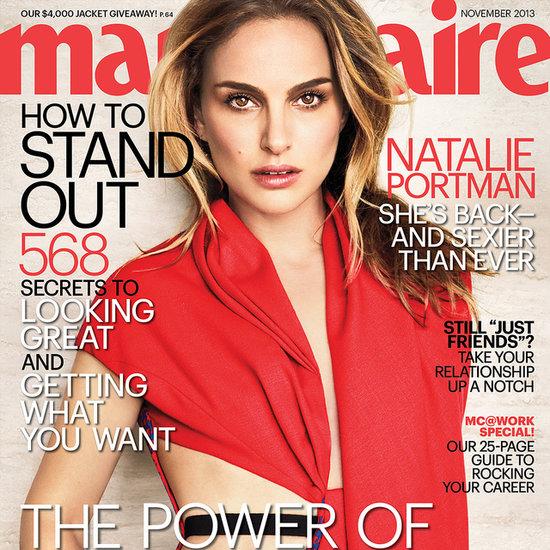 Natalie Portman Quotes in US Marie Claire Magazine Nov 2013