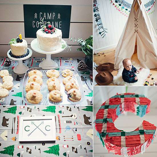 Camp First Birthday Party Ideas