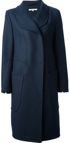 Carven Manteau Drap Coat