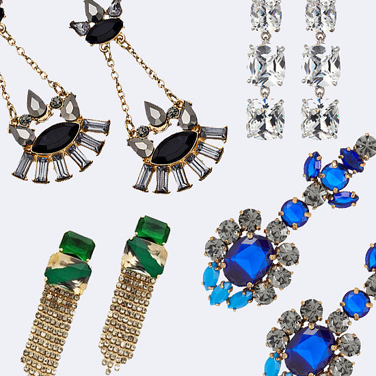 Party Earrings Under $75   Shopping