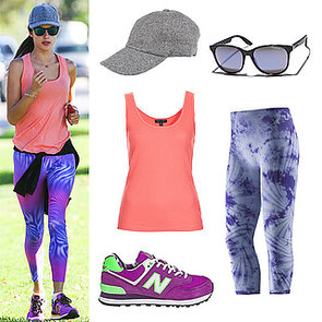 Get the Look: Alessandra Ambrosio's Workout Style