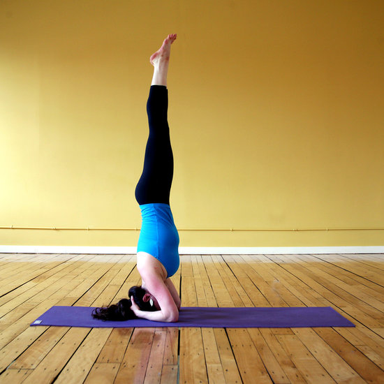 How to Balance in Headstand Pose