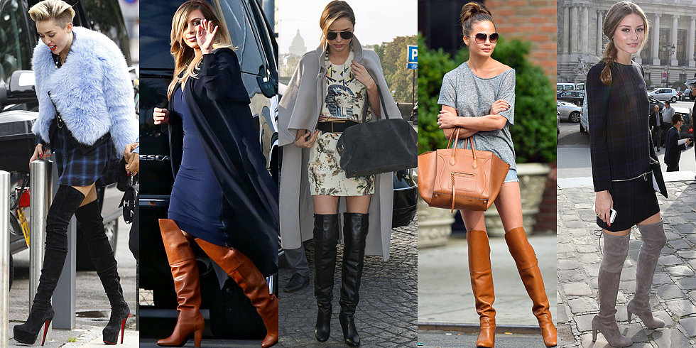 7 Days, 7 Ways: Over-the-Knee Boots For Work and Weekend