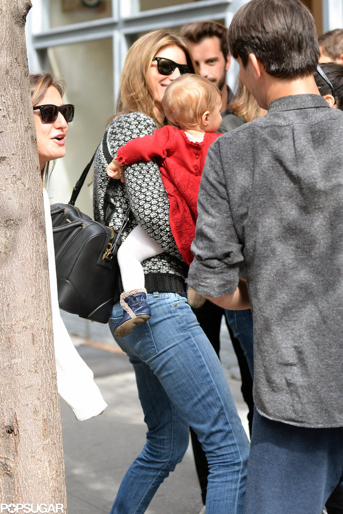 Gisele Bündchen and Vivian Brady went to lunch in NYC.