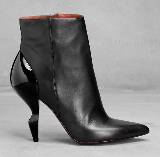 Ankle Boots With Curved Plastic Heel from And Other Stories