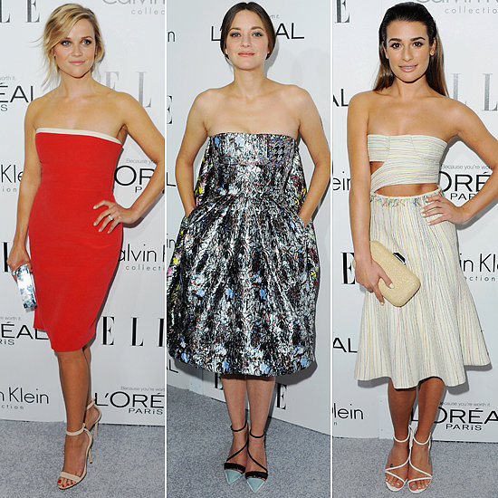 Elle Women in Hollywood 2013 Red Carpet Style