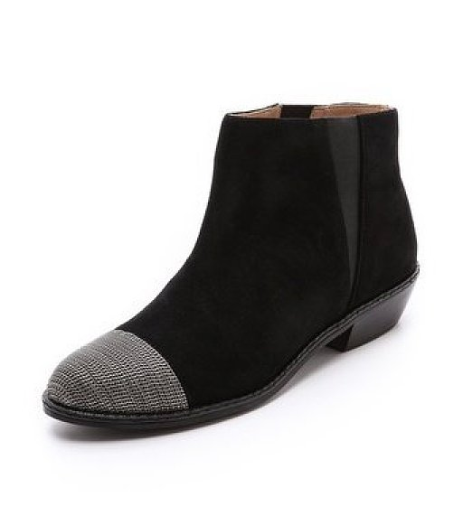 We dig a flat, walkable bootie, especially when it has cool details like this