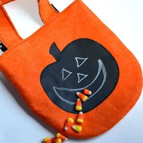 Handmade Halloween Loot Bags For Trick-or-Treating