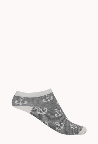 FOREVER 21 Seaside Ankle Socks