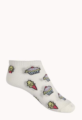 FOREVER 21 Dessert Ankle Socks