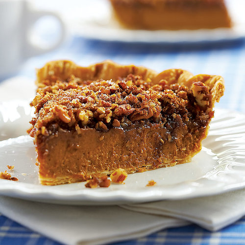Pumpkin-Pecan Pie Recipe | POPSUGAR Food