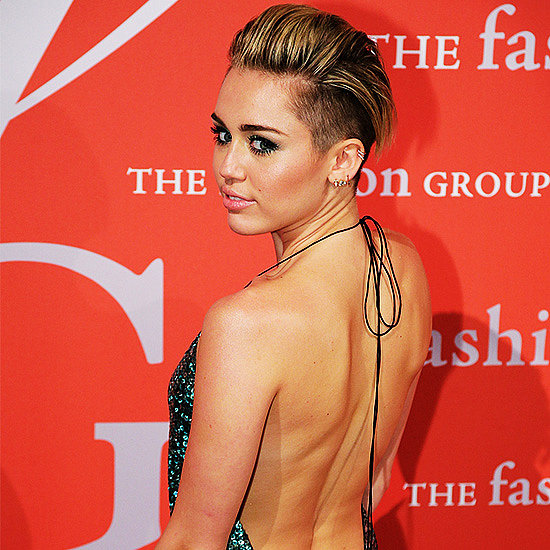 Miley Cyrus in Sequined Marc Jacobs Dress | Video