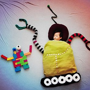 Creative Sleeping Baby Pictures