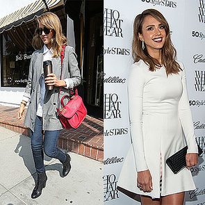 Jessica Alba's Style at Who What Wear Party | Video
