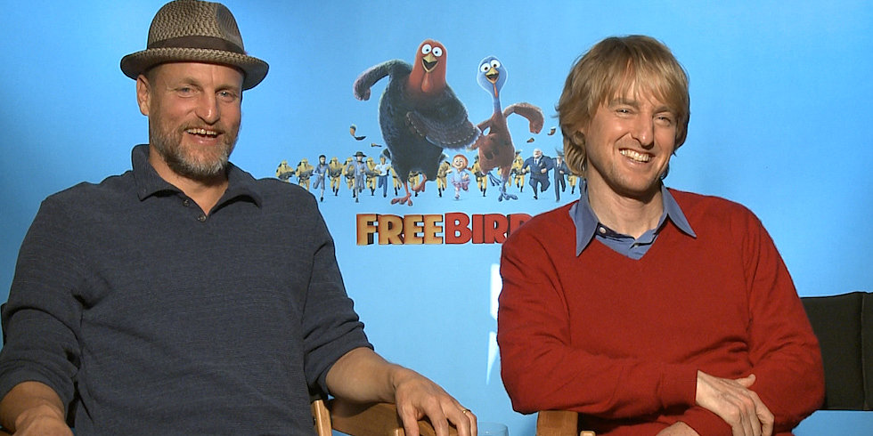 Woody Harrelson Mocks Zoolander 2 in Front of Owen Wilson